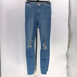 ASOS Ridley High Waisted Skinny Jeans sz 30